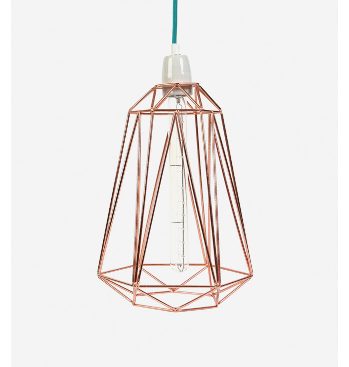 Lampada Diamond 5 bronzo -Filamentstyle