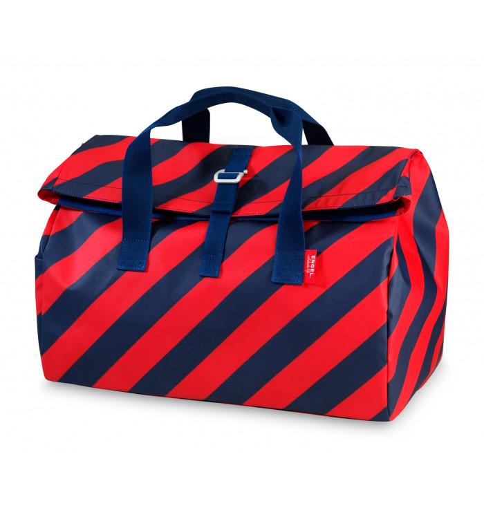 Overnightbag Flip 'Stripe Navy' - Engel
