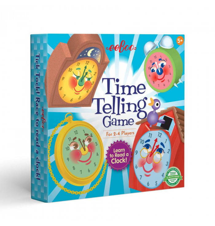 Time telling game - Eeboo