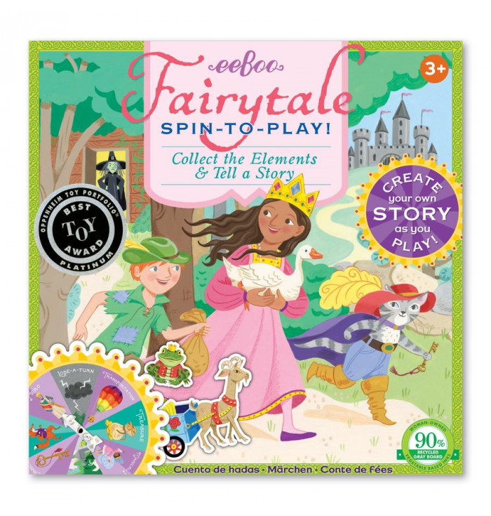 Fairytale Spinner Game - Eeboo