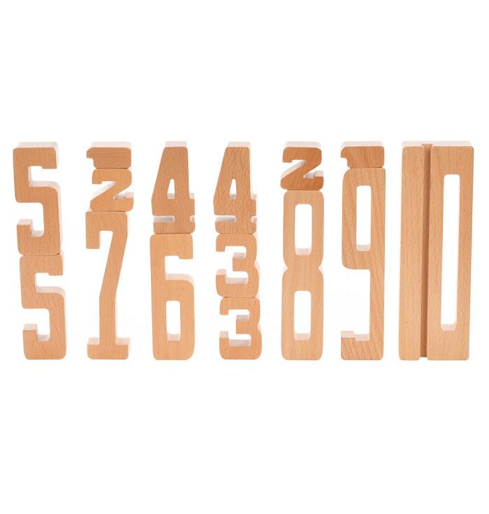 Gioca e impara, numeri in legno  - Astrup
