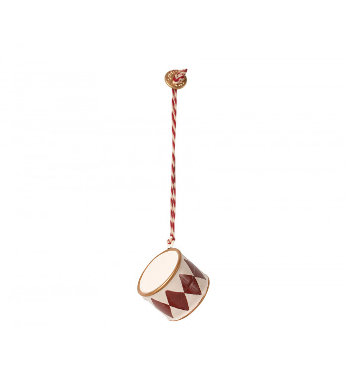 Metal ornament Red drum - Maileg