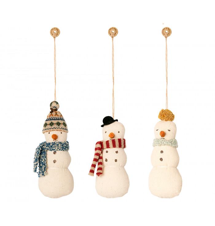 Decorazione in stoffa Pupazzo di neve - Maileg