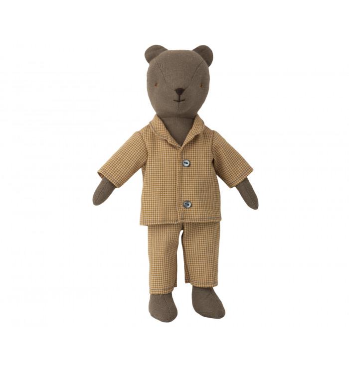 Teddy dad with pijama - Maileg