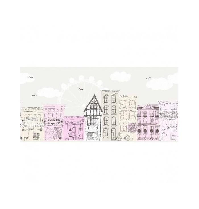 Wallpaper frise - Alice&Paul - Villes