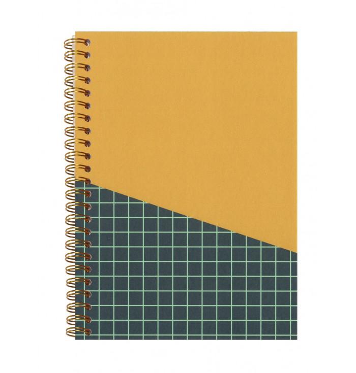 Mustard notebook - Zuzù