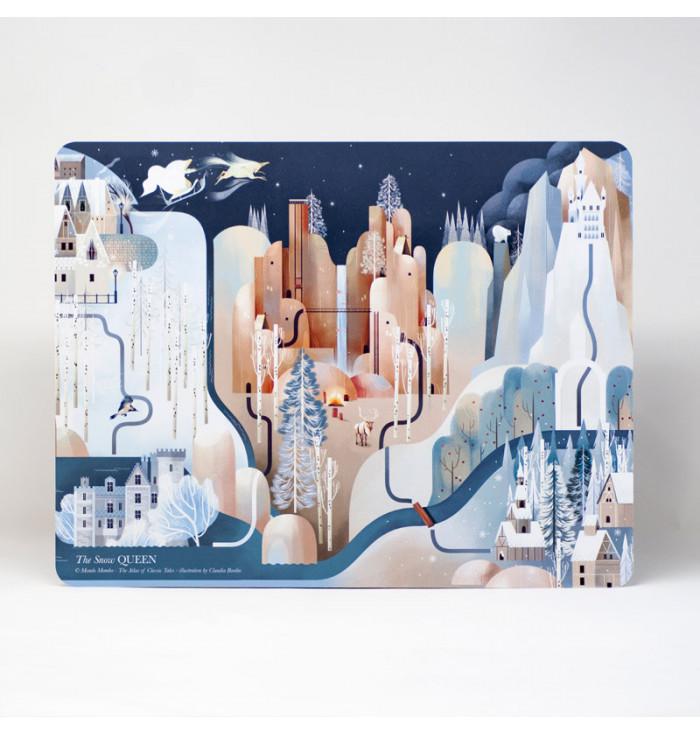 Tovaglietta Regina delle Nevi - Mondomombo