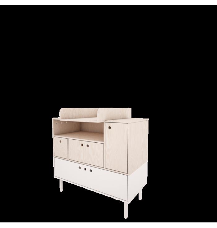 Piano fasciatoio - River collection - Wood Luck