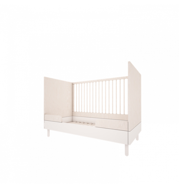 Baby bed - River collection - Wood Luck