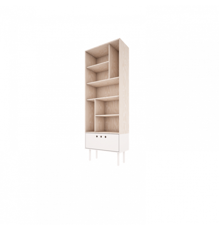 River Collection - Bookcase - Wood Luck
