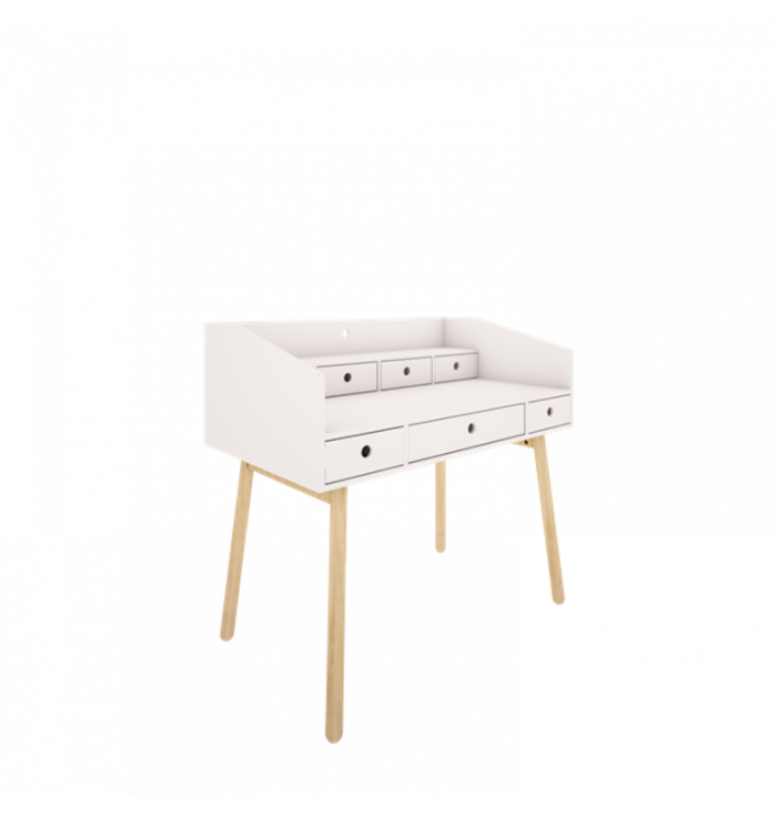 Desk River collection white - Wood Luck