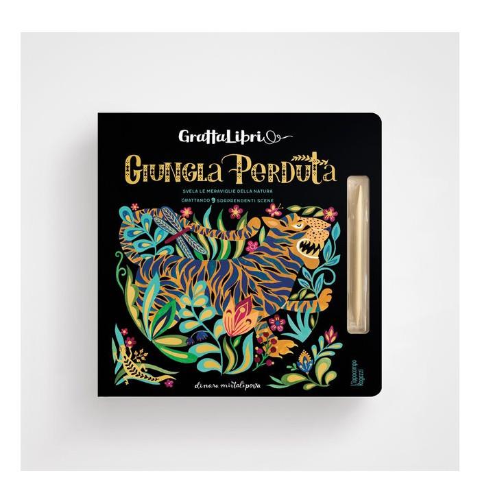 Grattalibri - Giungla perduta - Dinara Mirtalipova