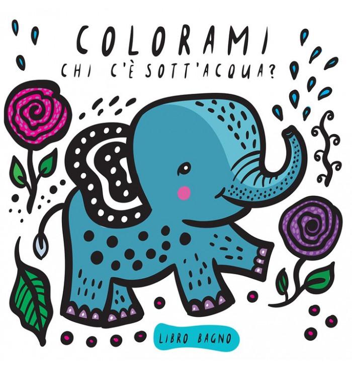 Libro bagno Colorami - Chi c'è sott'acqua? Wee Gallery