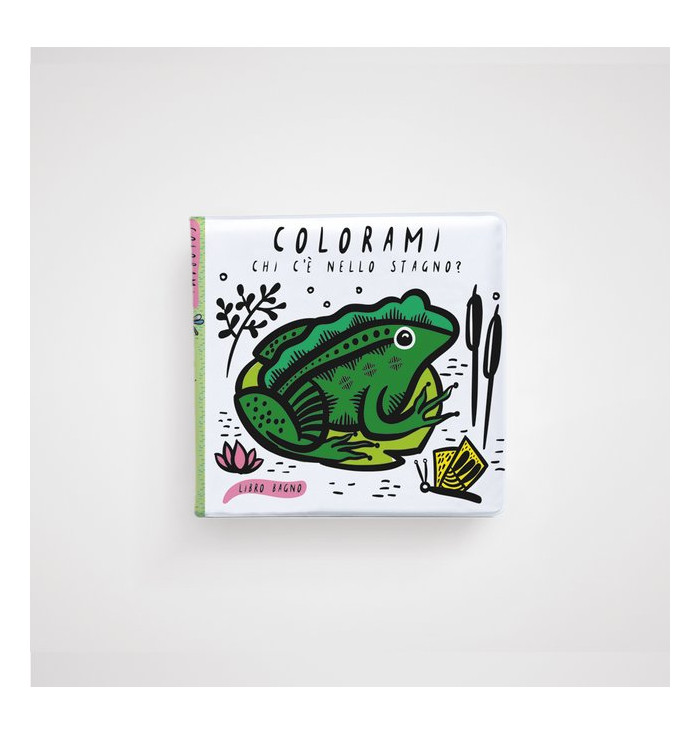 Libro bagno Colorami - Chi c'è nello stagno- Wee Gallery