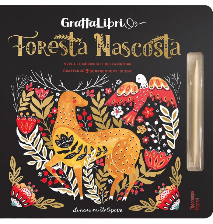 Grattalibri - Foresta nascosta - Dinara Mirtalipova