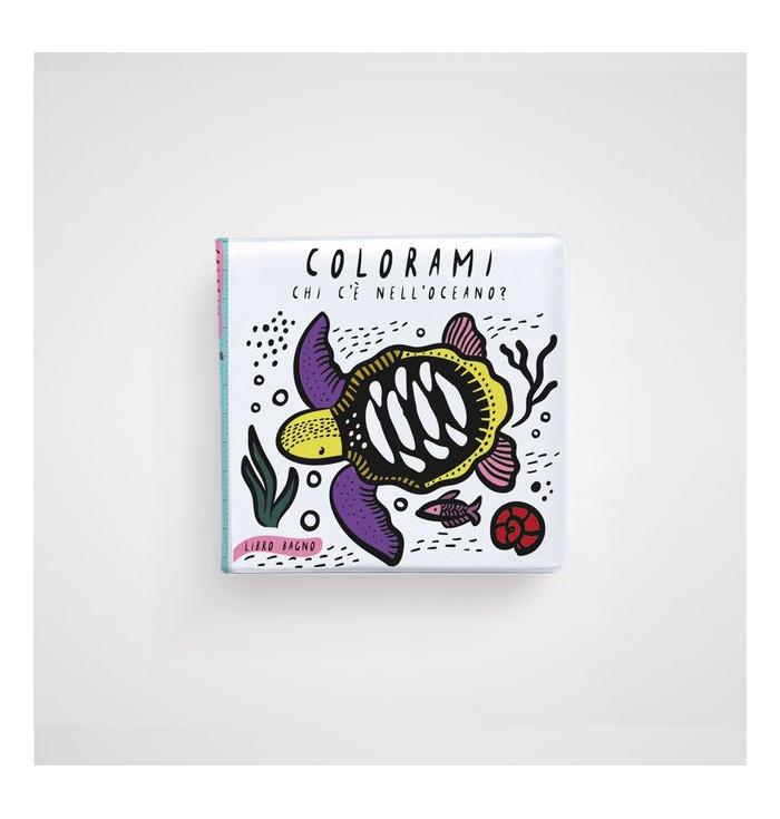 Libro bagno Colorami - Chi c'è nell'oceano? Wee Gallery