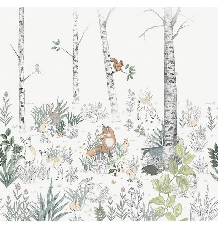 Wallpaper Magic Forest - Borastapeter