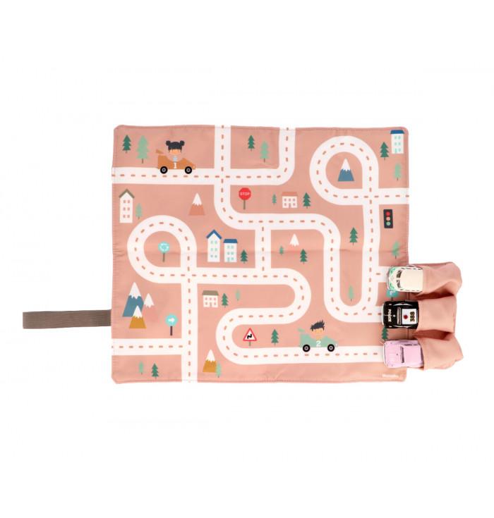 Little track mat pink- Monnëka
