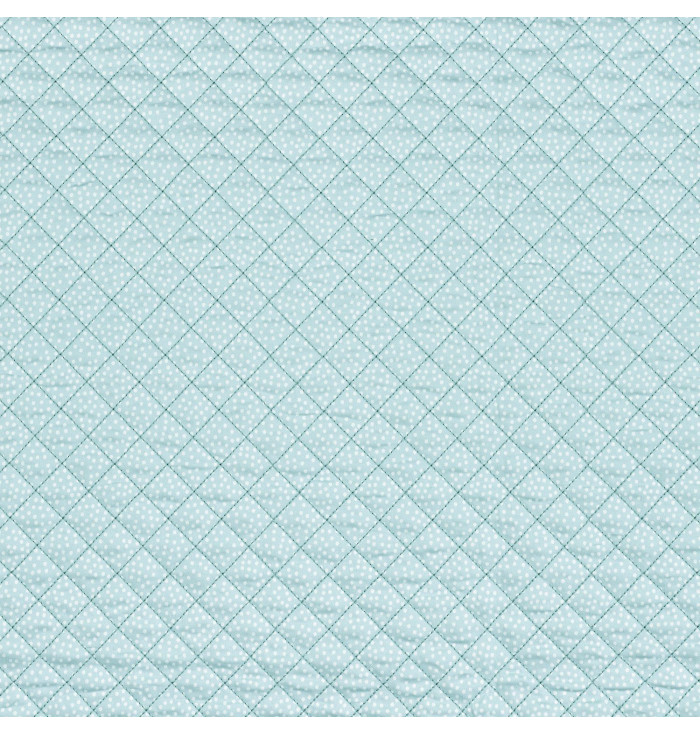 Quilted fabric Tout Doux - Rose & Nino - Camengo