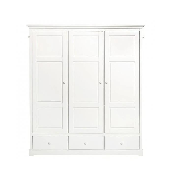 Seaside Wardrobe 3 Doors - Oliver Furniture