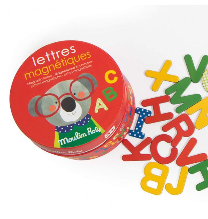 Lettere Magnetiche in Legno - Moulin Roty