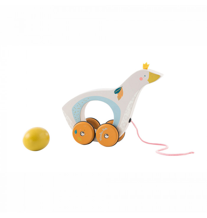 DUCK PULL TOY - moulin roty