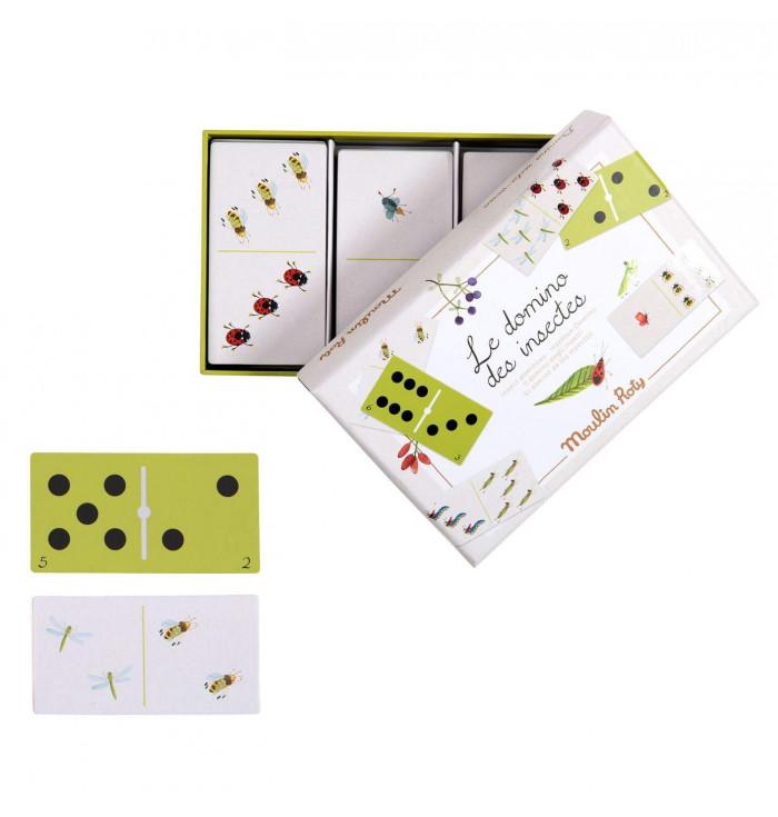 Domino degli insetti - Le Jardin - Moulin Roty