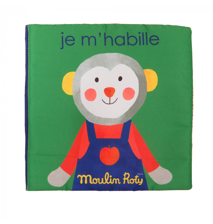 Libro in tessuto Mi Vesto - Moulin Roty