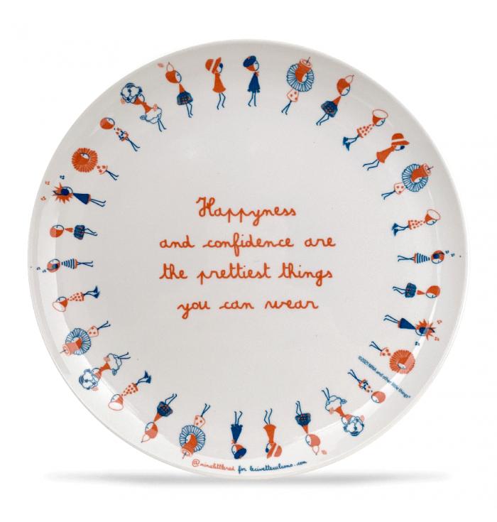 Melamine dessert plate LILLIPUT - Manifesto