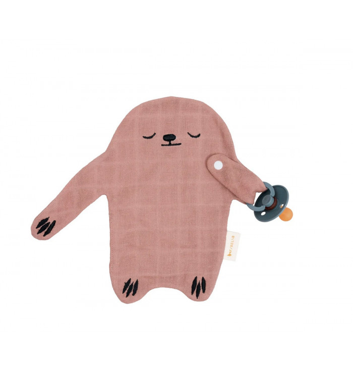 Doudou Animal Soother Holder - Fabelab