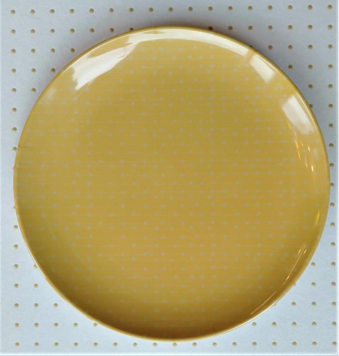 Melamine dessert plate LILLIPUT - Pois