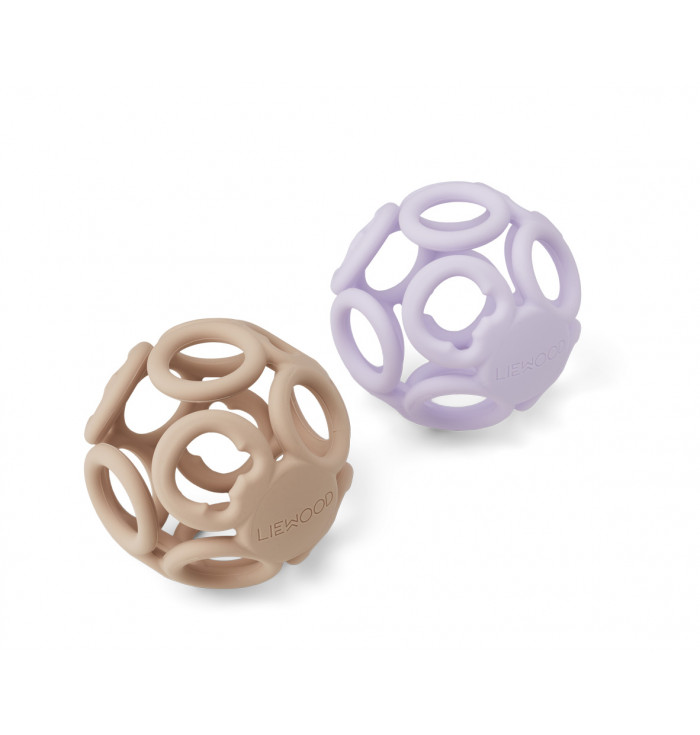 BABY TEETHER BALL - 2 PACK - Liewood