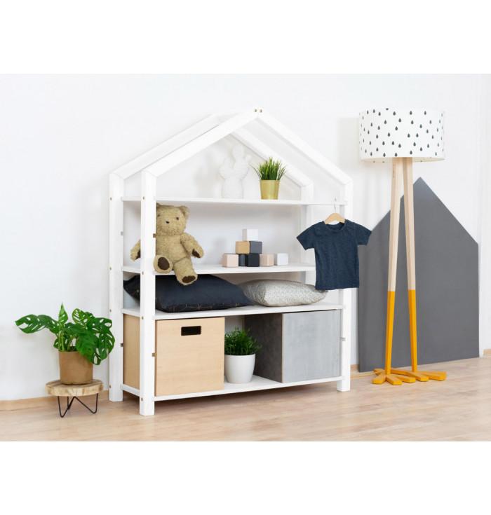 Wooden House Shelf Polly - Benlemi