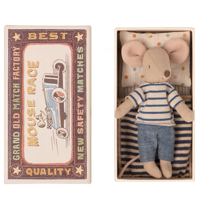 Big brother mouse in box - Maileg