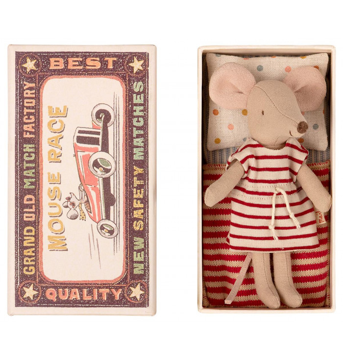 Big Mouse in a box - Maileg