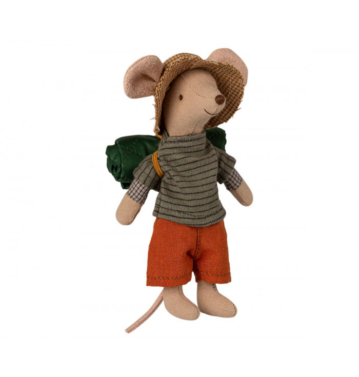 Scout mouse with sleeping bag - Maileg