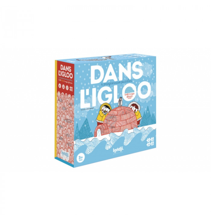 Gioco/puzzle progressivo Dans I Igloo - Londji