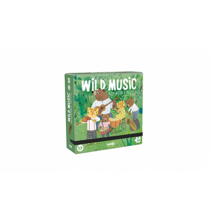 puzzle 36 pezzi - Wild Music - Londji