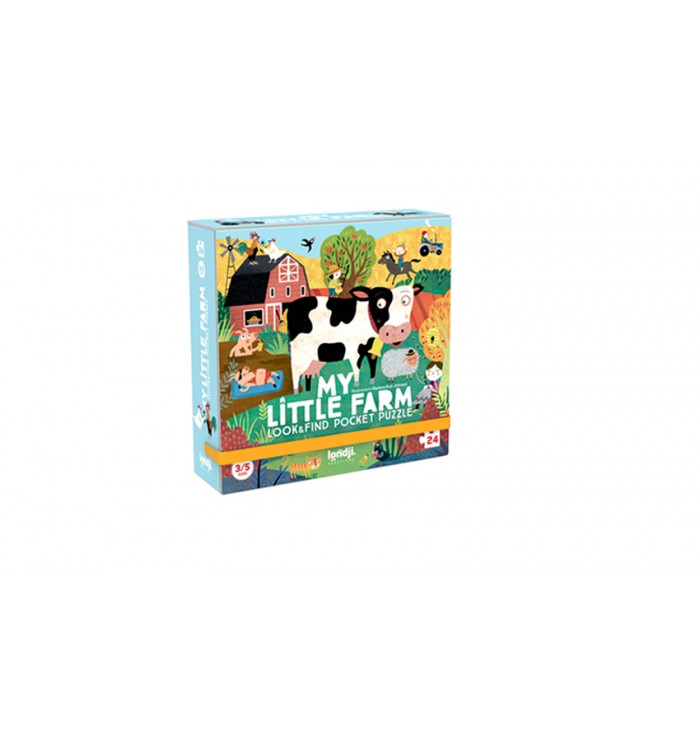 Pocket puzzle - my little farm - Londji