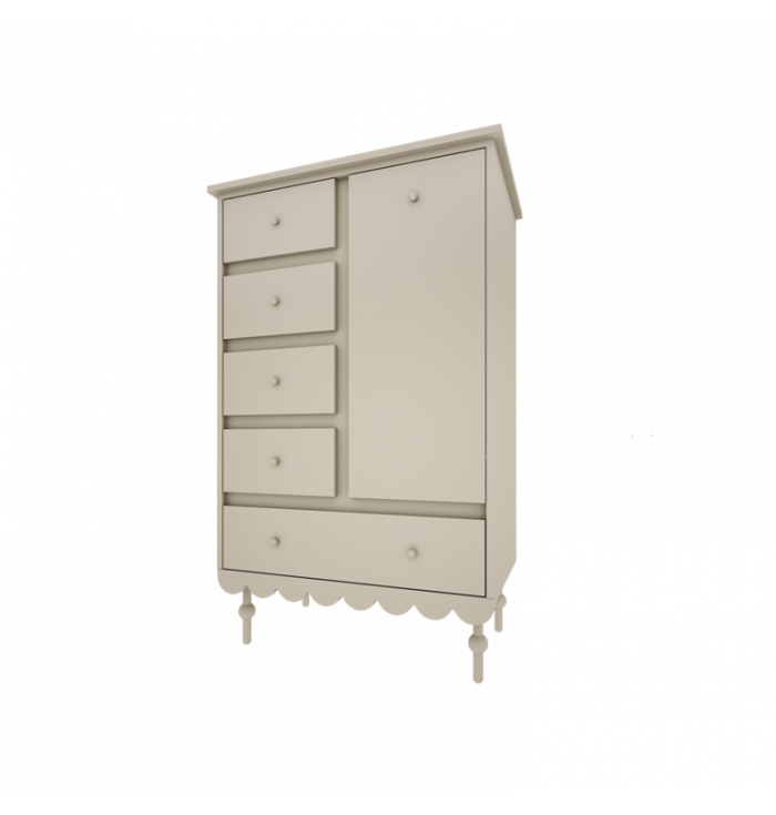 Chest of drawers Babushka - Wood Luck