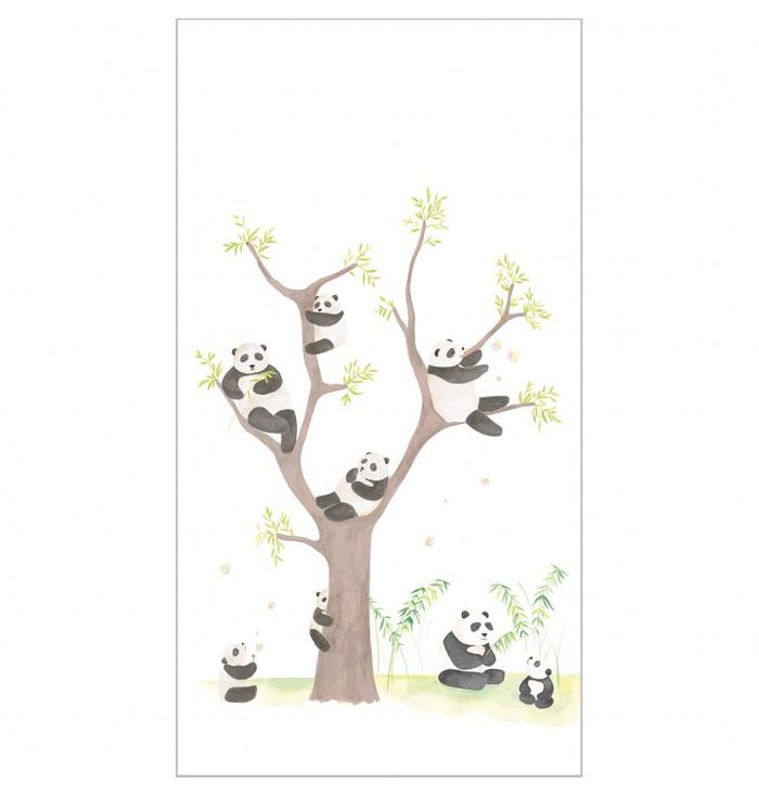 Pannello di carta da parati Alice & Paul - Panda