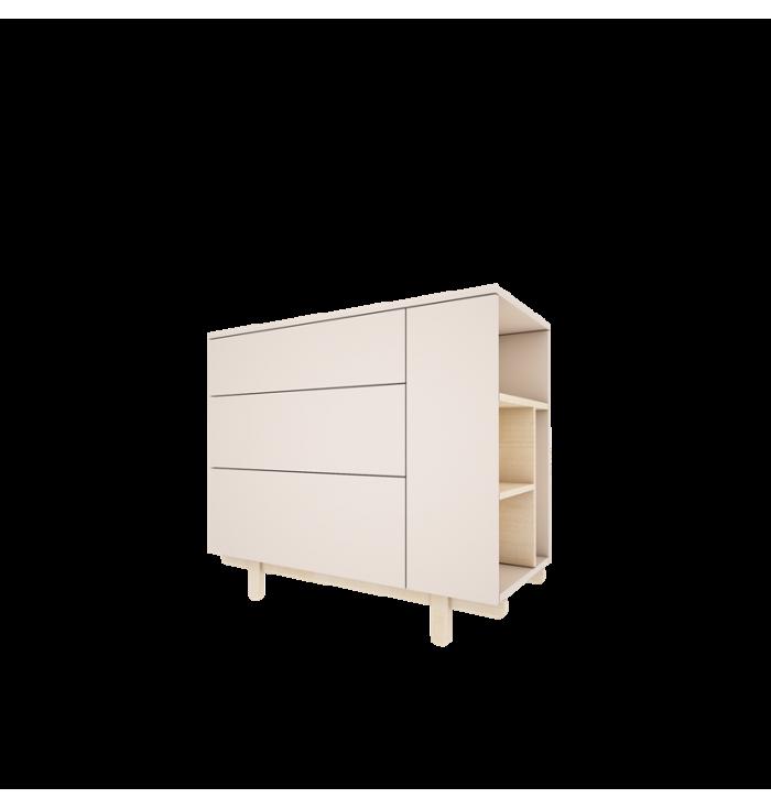 Cassettiera Basic - Wood Luck