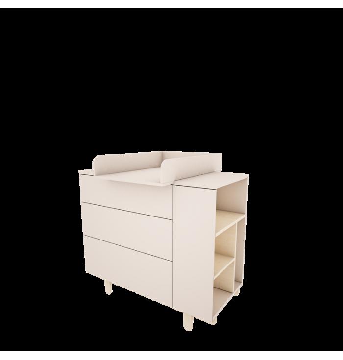 Fasciatoio per Cassettiera Basic - Wood Luck