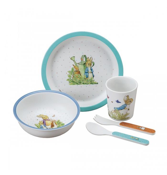 Melamine mealtime set - Peter Rabbit