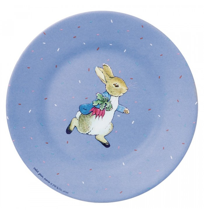 copy of Side Plate Peter Rabbit