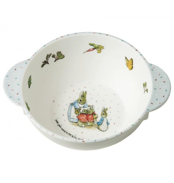 Melamine bowl with handles - Peter Rabbit
