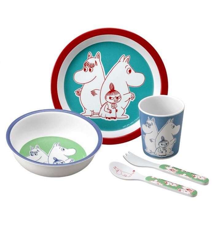 Melamine mealtime set - Moomin