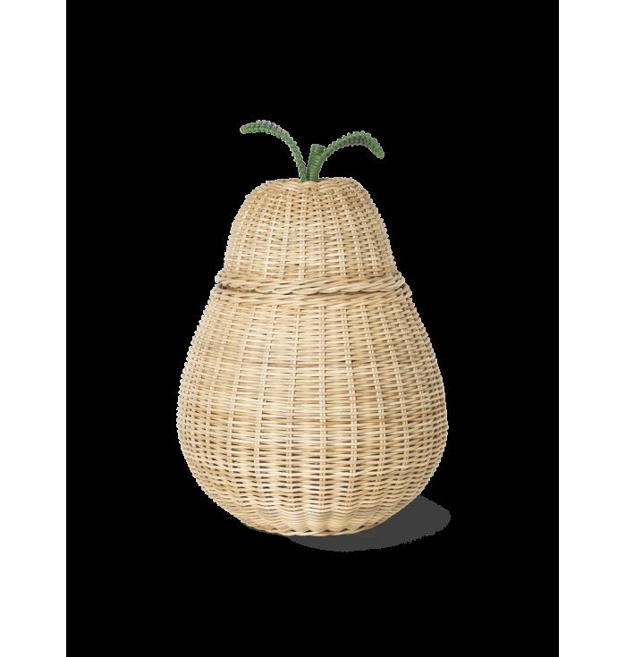 Braided Pear basket - Ferm Living