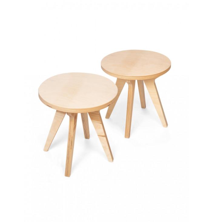 Set 2 sgabellini Drawin' - Drawin' Table