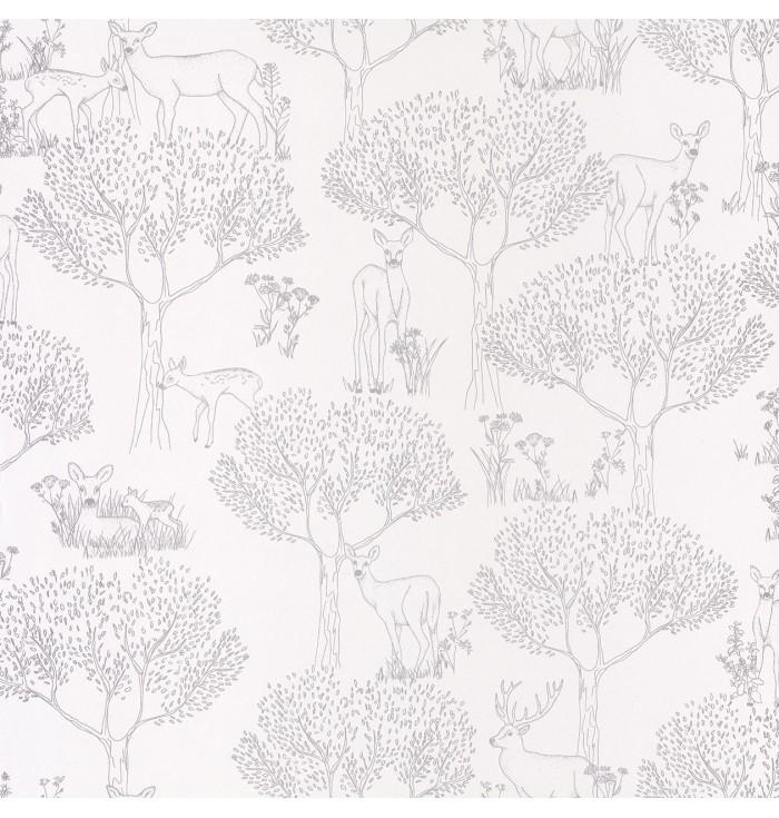 Wallpaper Pretty Lili - Biche - Caselio